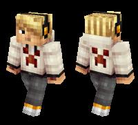 Blonde Teenager skin