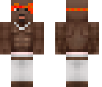 Tupac Shakur Minecraft Skin