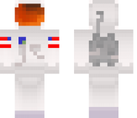 Astronaut Minecraft Skin