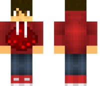 Redstone Guy Minecraft Skin