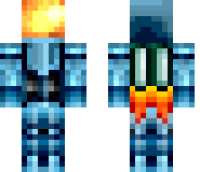 Space Explorer Minecraft Skin