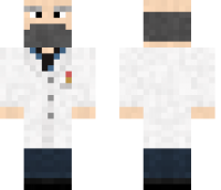 Scientist Minecraft Skin