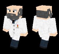 Scientist skin