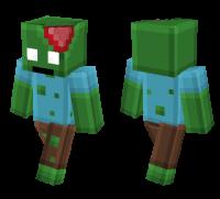 Pixel Zombie skin