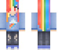 My Little Pony Girl Minecraft Skin