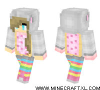 Nyan Cat Girl skin