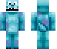 Monsters Inc Sully Minecraft Skin