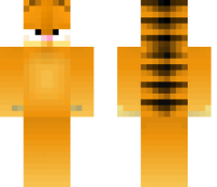 Garfield Minecraft Skin