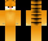 Garfield Minecraft Skin