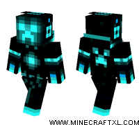 Tron Creeper skin