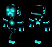 Tron Creeper skin