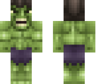 The Hulk Minecraft Skin