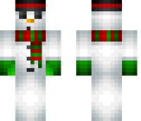 Snowman Minecraft Skin