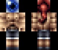Eyeball Head Minecraft Skin