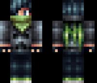 Emo Skater Minecraft Skin