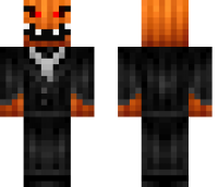 Pumpkin Monster Minecraft Skin