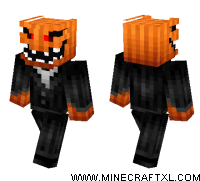 Pumpkin Monster skin