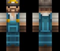 Realistic Miner Minecraft Skin