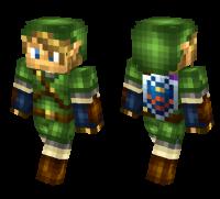 Link Minecraft Skin Download