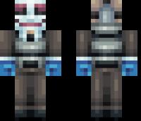 Hoxton Minecraft Skin