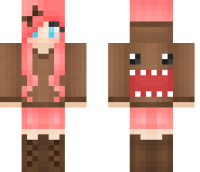Domo Girl Minecraft Skin