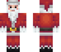 Santa Claus HD Minecraft Skin