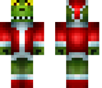 The Grinch Minecraft Skin
