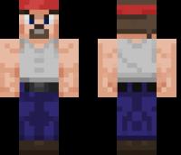 Sphax PureBDcraft Hero Minecraft Skin