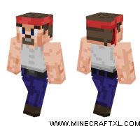 Sphax PureBDcraft Hero skin