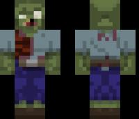 Sphax PureBDcraft Zombie Minecraft Skin