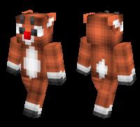 Rudolph Reindeer skin