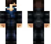 Sherlock Holmes Minecraft Skin
