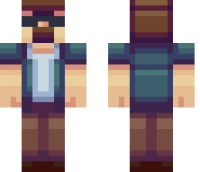 Tough Guy Minecraft Skin