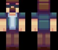 Tough Guy Minecraft Skin