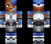 Teen Titans Cyborg Minecraft Skin