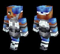 Teen Titans Cyborg skin