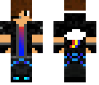Gamer Teen Minecraft Skin