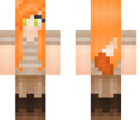 Foxy girl skin related keywords amp suggestions minecraft foxy girl