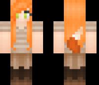 Foxy Lady Minecraft Skin