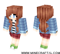 Casual Girl skin