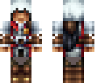 Ezio Assasin Creed Minecraft Skin