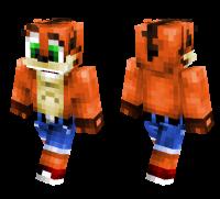 Crash Bandicoot HD skin