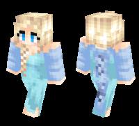 Elsa Snow Queen skin