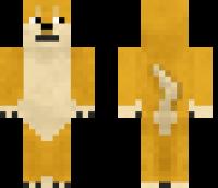 Doge Minecraft Skin