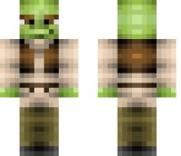 Shrek Minecraft Skin