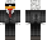 Chicken Agent Minecraft Skin