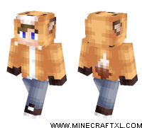 Fox Hoodie skin