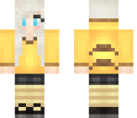 Pika Girl Minecraft Skin