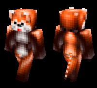 Red Panda skin