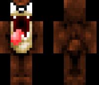 Taz Minecraft Skin